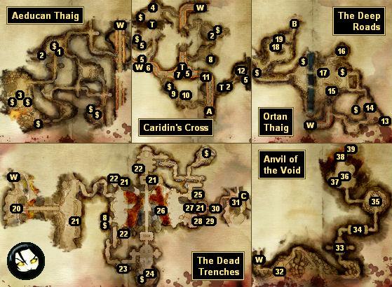 GameBanshee Dragon Age Origin Map on