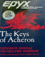 Dunjonquest: Hellfire Warrior - The Keys of Acheron