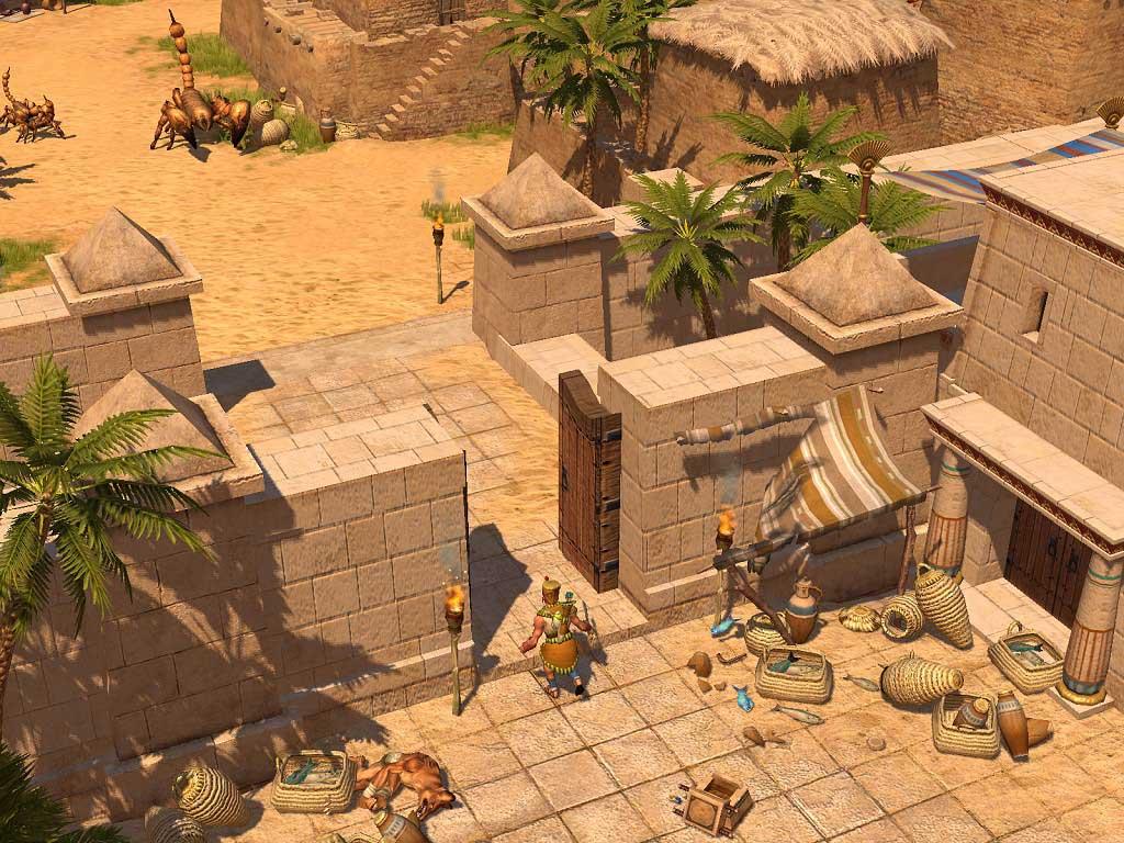 Titan Quest. кадры из игры.