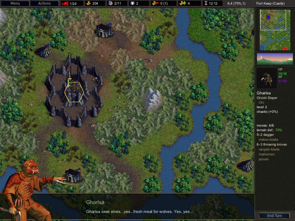 GameBanshee - Games - The Battle For Wesnoth
