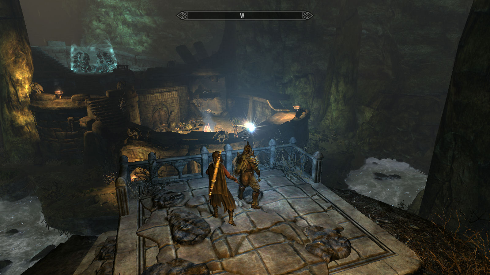 how to change to third person view skyrim xbox one