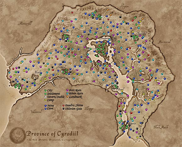 The Province of Cyrodiil